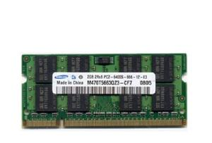 SAMSUNG DDR2-2GB-800MHz Notebook Memory